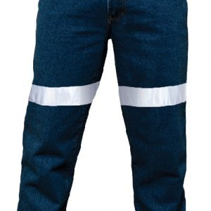 Denim Jeans with 3M 8910 reflective tape - RM106DJR
