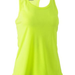 Ladies Racer Back Singlet - BKL0439 - Yellow