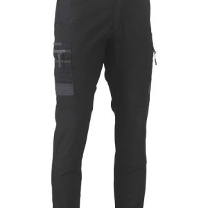 Flex and Move™ Stretch Cargo Cuffed Pants - BPC6334 - Black
