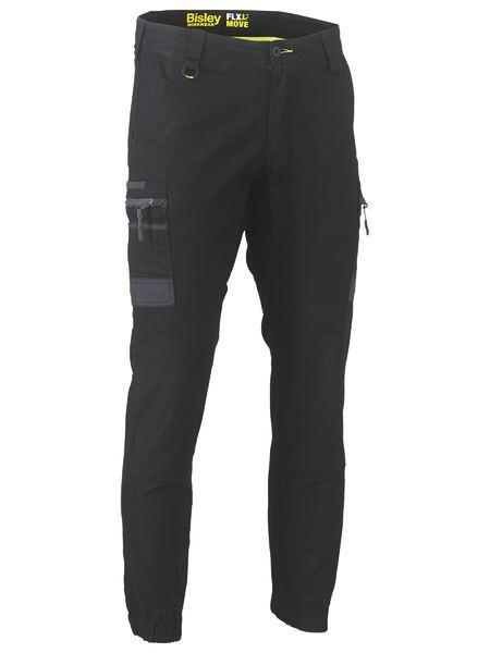 Flex and Move™ Stretch Cargo Cuffed Pants - BPC6334 - Black