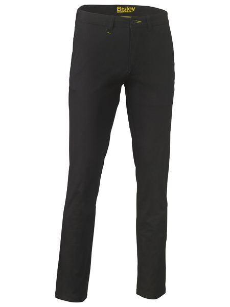 Stretch Cotton Drill Work Pants - BP6008 - Black
