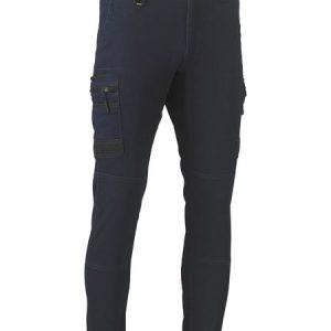 Flex and Move™ Stretch Denim Cargo Cuffed Pants - BPC6335 - Denim
