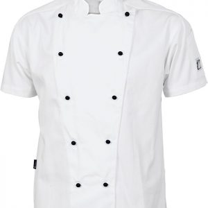 Cool-Breeze Short Sleeve Chef Jacket - 1103 - White