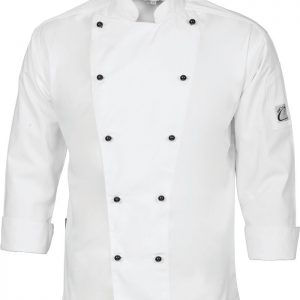 Cool-Breeze Long Sleeve Chef Jacket - 1104 - White