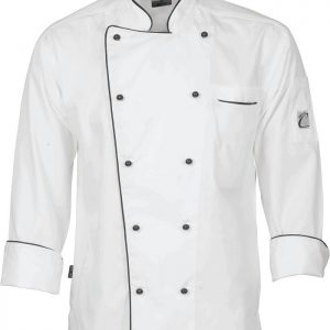 Classic Long Sleeve Chef Jacket - 1112 - White