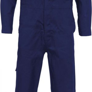 Mens Vented Cool-Breeze Coverall. 100% Cotton. 190gsm. Light Weight - 3104 - Navy