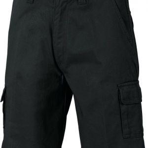 Mens Cargo Shorts. 100% Cotton. 311gsm. Regular Weight - 3302 - Black