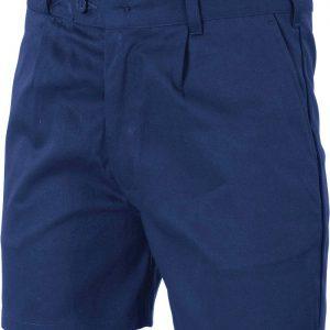 Mens Belt Loop Shorts. 100% Cotton. 311gsm. Regular Weight - 3303 - Navy