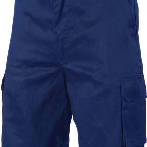 Mens Cargo Shorts. 100% Cotton. 265gsm. Mid Weight - 3310 - Navy