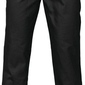 Mens Work Pants. 100% Cotton. 311gsm. Regular Weight - 3311 - Black