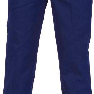 Mens Elastic Waist Pants. 100% Cotton. 311gsm. Regular Weight - 3313 - Navy
