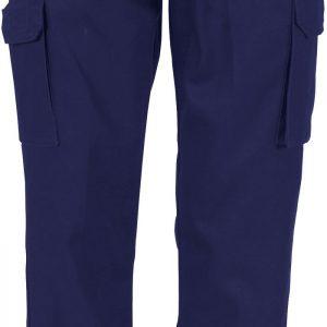 Ladies Cotton Drill Work Pants. 100% Cotton. 311gsm. Regular Weight - 3321 - Navy