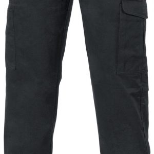Mens Digga Cargo Pants. 100% Cotton. 265gsm. Mid Weight - 3352 - Black
