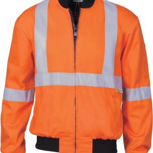 Hi Vis Cotton Bomber Jacket
