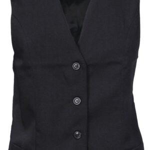 Ladies Black Vest - 4302 - Black