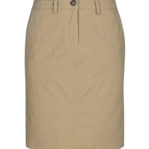 Lawson Chino Skirt - Dark Stone