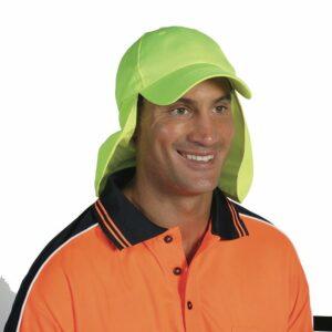 Hi Vis Legionnaires Cap - H023 - Orange
