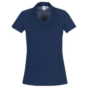 Ladies Byron Polo - Steel Blue